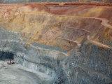 Overhead of Super Pit Mine Reproduction photographique par Orien Harvey
