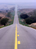 Road Between Coldwater and Medicine Lodge Photographic Print by Ionas Kaltenbach