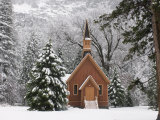 Church in Winter Photographic Print by Douglas Steakley