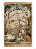 Cover of Brothers' Grimm Tales from a German Edition Published in Berlin, 1865 Impressão giclée