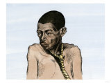 African Native Offered in the Slave Market, Congo Basin Giclee Print