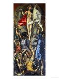 Ylösnousemus Giclée-vedos tekijänä  El Greco