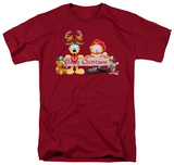 Garfield - Christmas Banner T-shirts