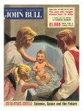 John Bull, Babies Baths Bathrooms Magazine, UK, 1950 Giclee Print