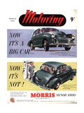Morris Minor, UK, 1950 Giclée-Druck