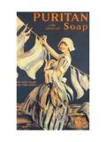Puritan, Washing Powder Products Detergent, UK, 1910 ジクレープリント