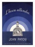 Jean Patou L'Heure Attendue, USA, 1930 Gicléetryck