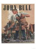 John Bull, Cobblers Shoe Menders Repairing Man Shoes Magazine, UK, 1947 Giclee Print