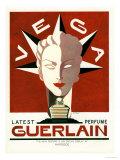 Guerlain, Guerlain Vega Art Deco Womens, UK, 1940 Giclée-tryk