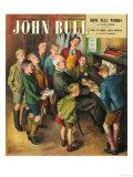 John Bull, School Concerts Singing Pianos Teachers Lessons Magazine, UK, 1948 ジクレープリント