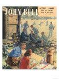 John Bull, Cricket Magazine, UK, 1948 ジクレープリント