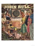 John Bull, Darts Magazine, UK, 1946 Giclee Print