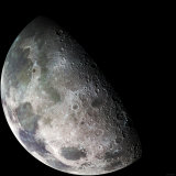 Moon Photographic Print by  Stocktrek Images