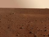 Rocky Surface of Mars Fotografie-Druck von  Stocktrek Images