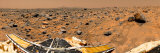 Panoramic View of Mars Photographic Print by  Stocktrek Images
