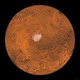 Mare Australe Region of Mars Fotografie-Druck von  Stocktrek Images