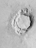 Mesa in the Avernus Colles Region of Mars Fotografie-Druck von  Stocktrek Images