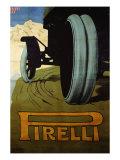 Pirelli, c.1920 Giclée-Druck