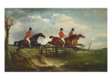 The Squire with the Quorn, c.1827 Giclée-tryk af John E. Ferneley