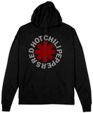 Zip Hoodie: Red Hot Chili Peppers- Asterisk Felpa con cappuccio con chiusura a zip