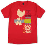 Woodstock – staten New York 69 Skjorter