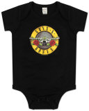Infant: Guns N Roses - Bullet Logo Bodysuit ロンパース