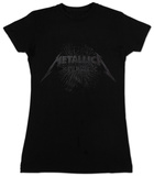 Women's: Metallica - Black Death Tshirt