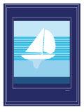 Navy Sail Posters par  Avalisa