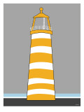Orange Light House Posters par  Avalisa