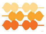 Orange Design, no. 95 Prints by  Avalisa