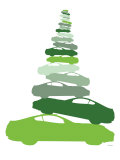 Green Pile-up Poster par  Avalisa