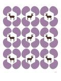 Purple Deer Hoof Posters par  Avalisa