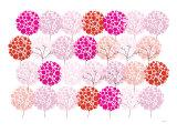 Pink Park Plakat af  Avalisa