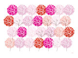 Pink Park Prints by  Avalisa