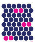 Pink Dots Affiche par  Avalisa