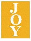 Orange Joy Poster di Avalisa,