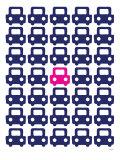 Pink Parking Lot Posters par  Avalisa