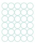 Seagreen Circles Posters par  Avalisa