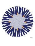 Blue Lilly Hat Poster par  Avalisa