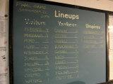 New York Yankee Stadium Finale Line Up, New York, NY Fotoprint