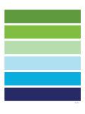 Cool Stripes Affiche par  Avalisa