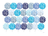 Blue Park Prints by  Avalisa