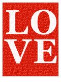 Red Love Posters par  Avalisa