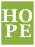 Green Hope Poster di Avalisa,