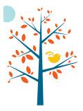 Orange Songbird Posters par  Avalisa