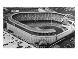 New York Yankee Stadium, New York, NY, c.1976 Valokuvavedos