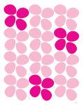 Fleurs roses Posters par  Avalisa