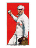 Boston, MA, Boston Red Sox, Bill Carrigan, Baseball Card Art by  Lantern Press
