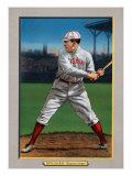 Boston, MA, Boston Red Sox, Tris Speaker, Baseball Card Art by  Lantern Press