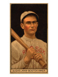 Boston, MA, Boston Red Sox, J. F. Bushelman, Baseball Card Prints by  Lantern Press